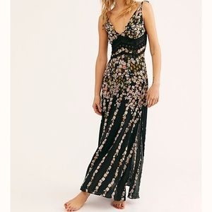 NWT Free People Intimately floral lace maxi dress